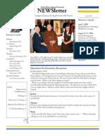 Divine Mercy NEWSletter - Jan, 2008
