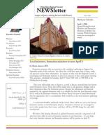 Divine Mercy NEWSletter - March, 2008