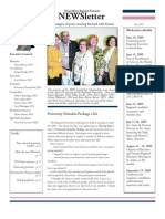 Divine Mercy NEWSletter - May, 2009