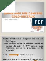 Dépistage des cancers colo-rectaux