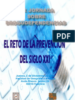 XIX Jornada Sobre Drogodependencias 2010