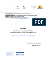 Pedagogia Centrata Pe Competente - Suport Curs