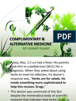 K - 41 Complimentary and Alternative Medicine (IKK)
