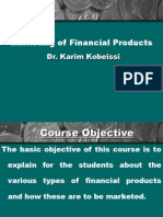Marketing of Financial Products Ch 1