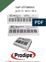 Manual Prodipe Clavier Midi1