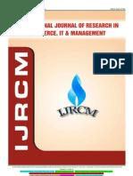 Ijrcm 4 IJRCM 4 Vol 3 2013 Issue 6 June Art 17