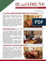 Notizie Dal Comune di Borgomanero del 25 Luglio 2013