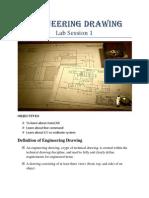 Engineering Drawing Lab1