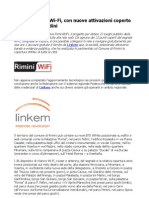 Linkem Rimini Wi-Fi coperto il 96% dei cittadini