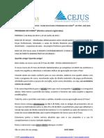 2780_programacao Curso Josa Aras 2013.1 2 Fase Direito Administrativo Aeisj! Ced!