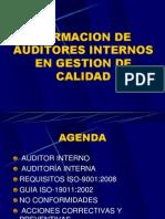Curso Auditores Internos 2 Sesiones Junio 2013