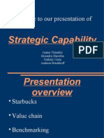 Strategic Capability Starbucks