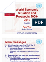 World Economic Situation and Prospects 2009-2010