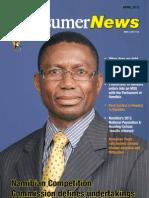 Consumer News Namibia Magazine April 2013