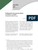 Radiografia de la prensa diaria en México