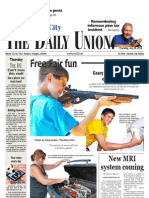The Daily Union. July 25, 2013