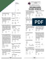 FRACCIONES -POTENCIACIÓN - RADICACIÓN - 4 OPERACIONES - SEMANA8