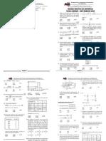 TERCERA PRÁCTICA DE ARITMÉTICA-Fracciones - potenciación - radicación - estadística