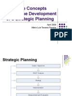 Strategic Planning Concepts