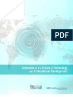 Rockefeller Foundation - Scenarios for Future Technology