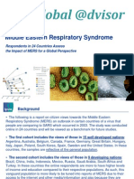 Middle Eastern Respiratory Syndrome