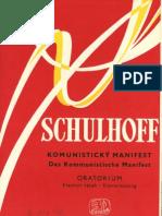 Erwin Schulhoff - Das Kommunistische Manifest