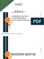 Modern maths