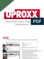 Uproxx mediakit