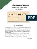Faro Oriental - Diez Laminas Esoteric As