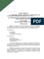 Ley de Ingresos 2013