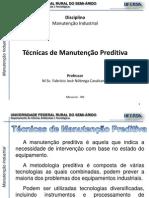 Manutencao Industrial - 1.3-Tecnicas de Manutencao Preditiva
