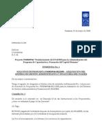 Enmienda No[1]. 1 SdP PS00049944022008