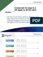 KAIZEN PowerPoint Template - Exemplos Coloridos