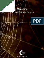 Managing organisational design