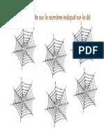 calculer les araignées