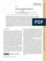 Locomotion and Postural Behaviour