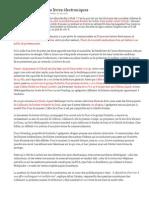 Livres Format Electronique-Premier Test