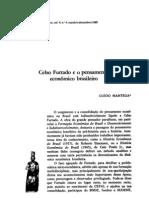MANTEGA CelsoFurtado e o Pensamento Economico Brasileiro
