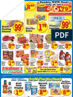 Friedman's Freshmarkets - Weekly Ad - July 25-31, 2013