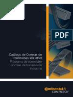 Catalogo de Correias Industriais Medidas Catalogo de Correias Contitech Medidas