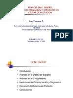 12.- Avances en El Diseno, Operacion y Caracterizacion de Celdas de Flotacion