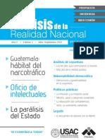 Revista No. 5. Análisis de la Realidad Nacional (Edición Impresa)
