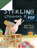 Sterling Children's Books Fall 2013 Catalog