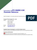 BSC6900 UMTS Parameter Reference(V900R011C00_06)