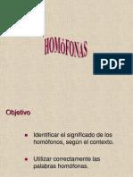 homofonas
