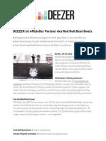 Deezer & Red Bull Beat Boat PM