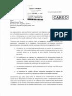 Carta a Ollanta Humala Julio 2013