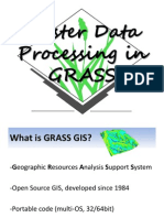 GIS- Raster Data Processing in GRASS