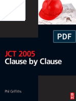 JCT 2005 Clause by Clause