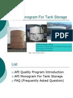 A Pi Monogram for Tank Storage